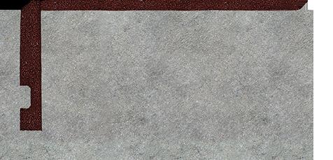 Dale de cauciuc plane suprafață plană pe ambele părți